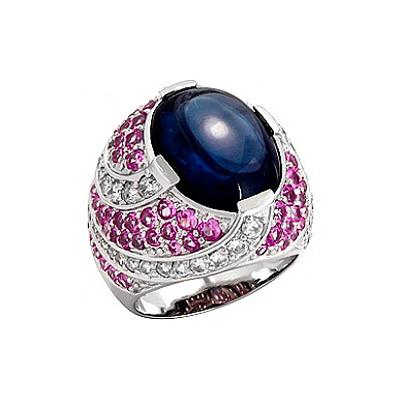 Серебряное кольцо Ювелирное изделие 75161 серебряное кольцо ювелирное изделие 75161