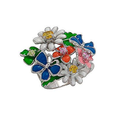 Серебряное кольцо Ювелирное изделие 75164