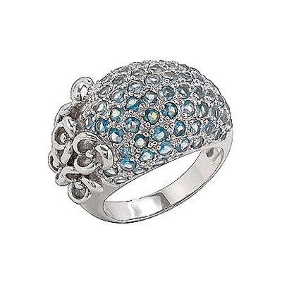 Серебряное кольцо Ювелирное изделие 75171 ювелирное изделие my62402a