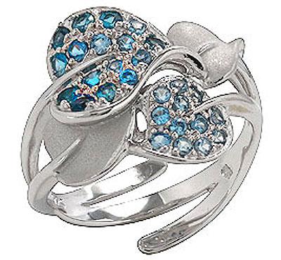 Серебряное кольцо Ювелирное изделие 75172 ювелирное изделие mkj5389710