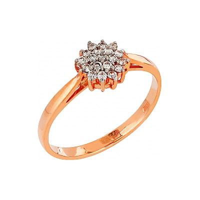 Золотое кольцо Ювелирное изделие 76127