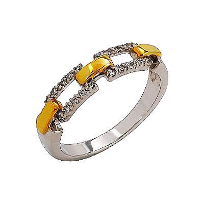 Золотое кольцо Ювелирное изделие 76332
