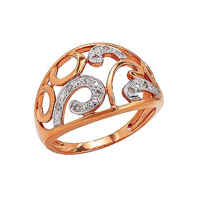 Золотое кольцо Ювелирное изделие 76401