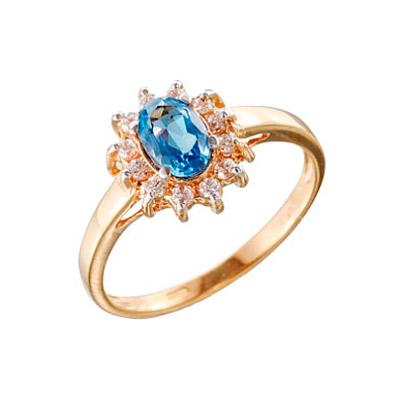 Золотое кольцо Ювелирное изделие 7658