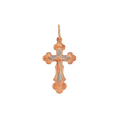 Золотой крест Ювелирное изделие 77515 ювелирное изделие 01k335243