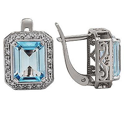 Серебряные серьги Ювелирное изделие 77526 серебряные серьги ювелирное изделие 68392