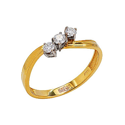 Золотое кольцо Ювелирное изделие 77598