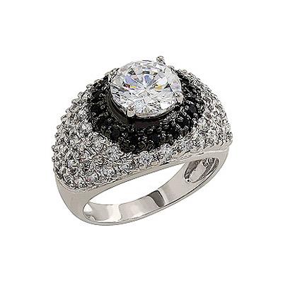 Серебряное кольцо Ювелирное изделие 80554 цены