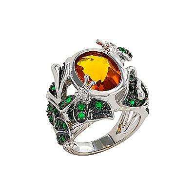 Серебряное кольцо Ювелирное изделие 80560 ювелирное изделие mkj5389710