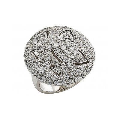 Серебряное кольцо Ювелирное изделие 80581