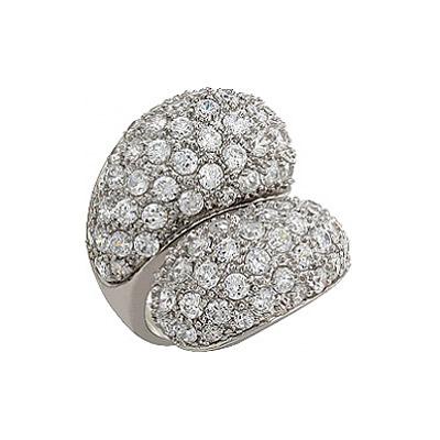 Серебряное кольцо Ювелирное изделие 80876