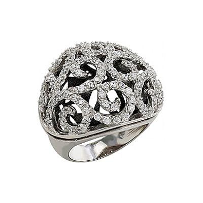 Серебряное кольцо Ювелирное изделие 80877