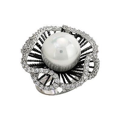 Серебряное кольцо Ювелирное изделие 80896 серебряное кольцо ювелирное изделие 68567