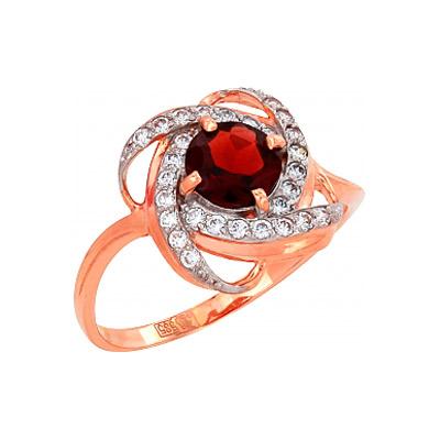 Золотое кольцо Ювелирное изделие 81211