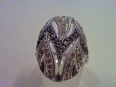 Серебряное кольцо Ювелирное изделие 81992