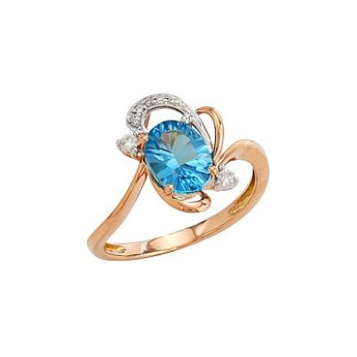 Золотое кольцо Ювелирное изделие 82213