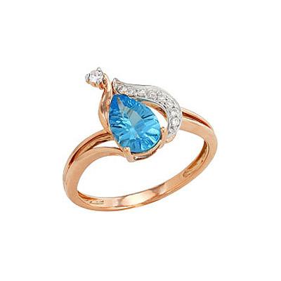 Золотое кольцо Ювелирное изделие 82216