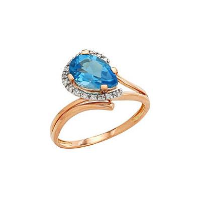 Золотое кольцо Ювелирное изделие 82222