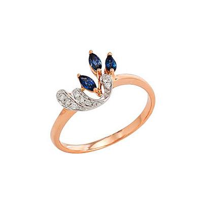 Золотое кольцо Ювелирное изделие 82228