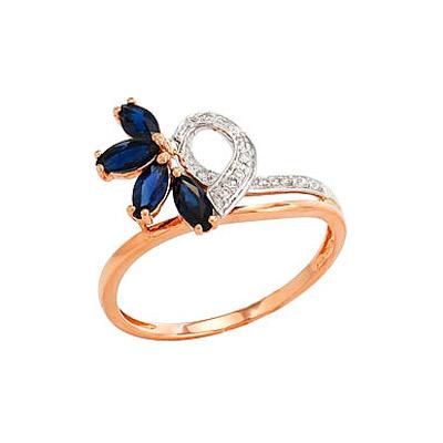 Золотое кольцо Ювелирное изделие 82230