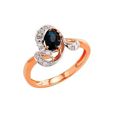 Золотое кольцо Ювелирное изделие 82235