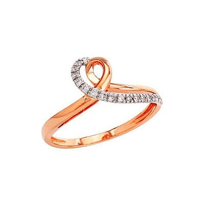 Золотое кольцо Ювелирное изделие 82237 кольцо эстет женское золотое кольцо с куб циркониями nd1141393 17