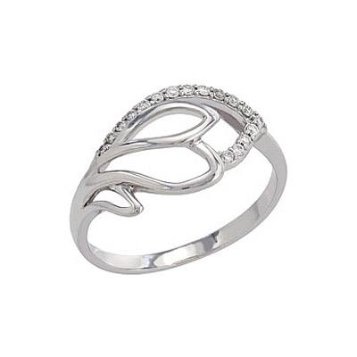Золотое кольцо Ювелирное изделие 82266 кольцо алмаз холдинг женское золотое кольцо с куб циркониями alm1200203515л 18 5
