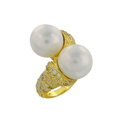 Серебряное кольцо Ювелирное изделие 82461