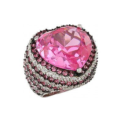 Серебряное кольцо Ювелирное изделие 82464 картридж cactus cs cf411x голубой