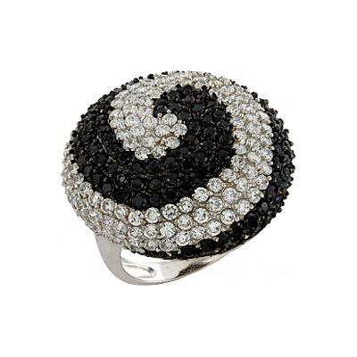 Серебряное кольцо Ювелирное изделие 82485