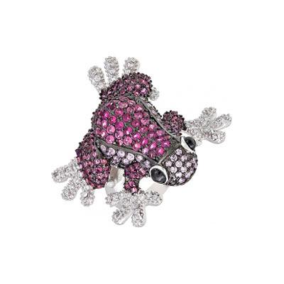Серебряное кольцо Ювелирное изделие 82533