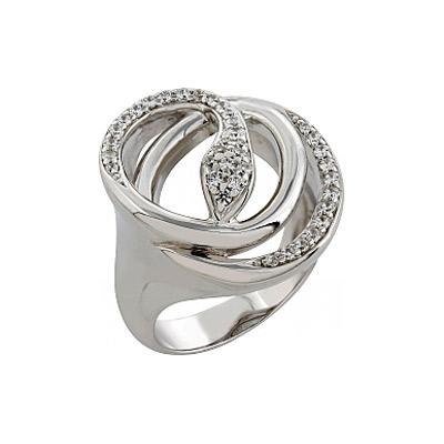 Серебряное кольцо Ювелирное изделие 82773 серебряное кольцо ювелирное изделие 80899