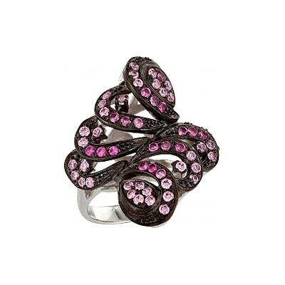 Серебряное кольцо Ювелирное изделие 83552