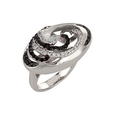 Серебряное кольцо Ювелирное изделие 83567 серебряное кольцо ювелирное изделие 106235