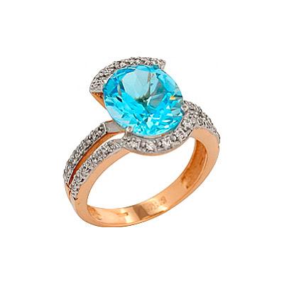 Золотое кольцо Ювелирное изделие 83771