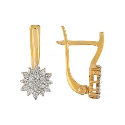 Золотые серьги Ювелирное изделие 84803