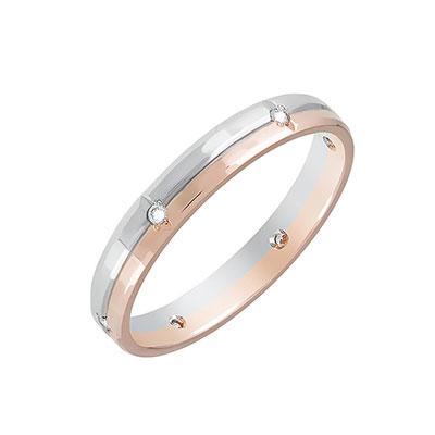 Золотое кольцо Ювелирное изделие 85690 обручальное кольцо korloff золотое обручальное кольцо с бриллиантами byzandkwg 19