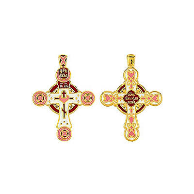 Серебряный крест Ювелирное изделие 85877