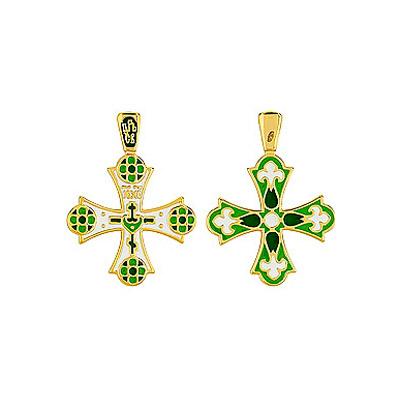Серебряный крест Ювелирное изделие 85903