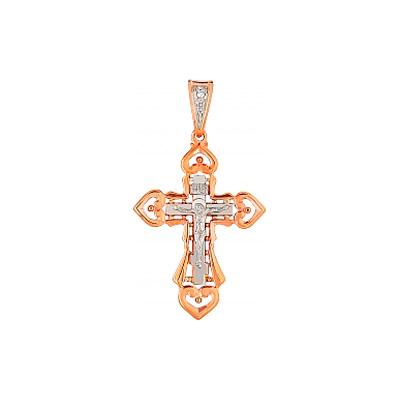 Золотой крест Ювелирное изделие 86204 гантель неразборная mb barbell фитнесс 8 0 кг хром