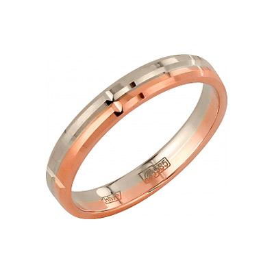 Золотое кольцо Ювелирное изделие 96253 обручальное кольцо korloff золотое обручальное кольцо k9hl07pg 17 5