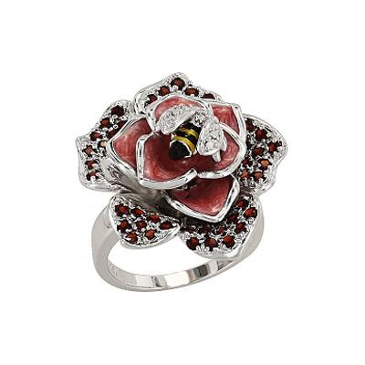 Серебряное кольцо Ювелирное изделие 96503