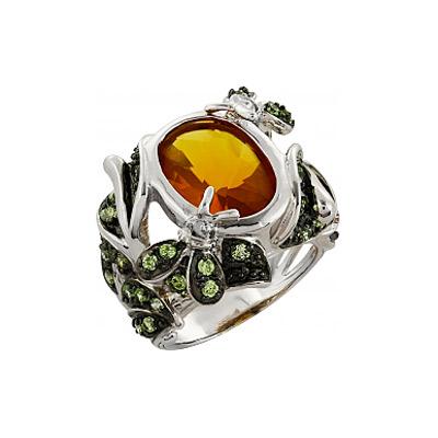 Серебряное кольцо Ювелирное изделие 96592