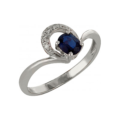 Золотое кольцо Ювелирное изделие 98145 кольцо алмаз холдинг женское золотое кольцо с куб циркониями alm1200203515л 18 5