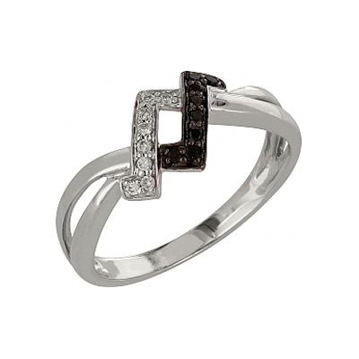 Золотое кольцо Ювелирное изделие 98153 кольцо алмаз холдинг женское золотое кольцо с бриллиантами и рубином alm13237661 19