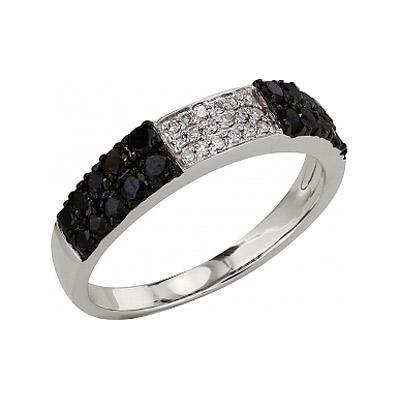 Золотое кольцо Ювелирное изделие 99216 кольцо jv женское золотое кольцо с бриллиантами и ониксами r21180 ox wg 18