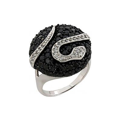 Серебряное кольцо Ювелирное изделие 99451 серебряное кольцо ювелирное изделие 68567