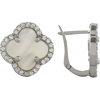 Серебряные серьги Ювелирное изделие 99480