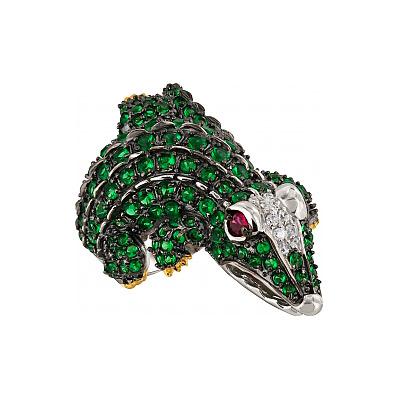 Серебряное кольцо Ювелирное изделие 99588