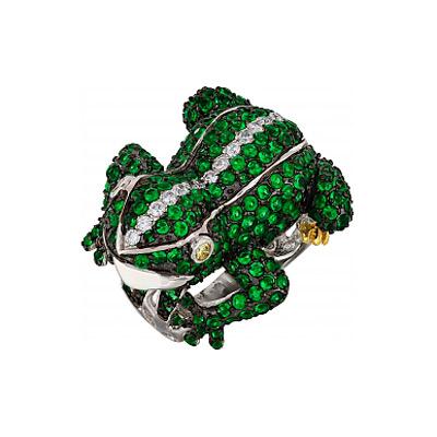 Серебряное кольцо Ювелирное изделие 99603